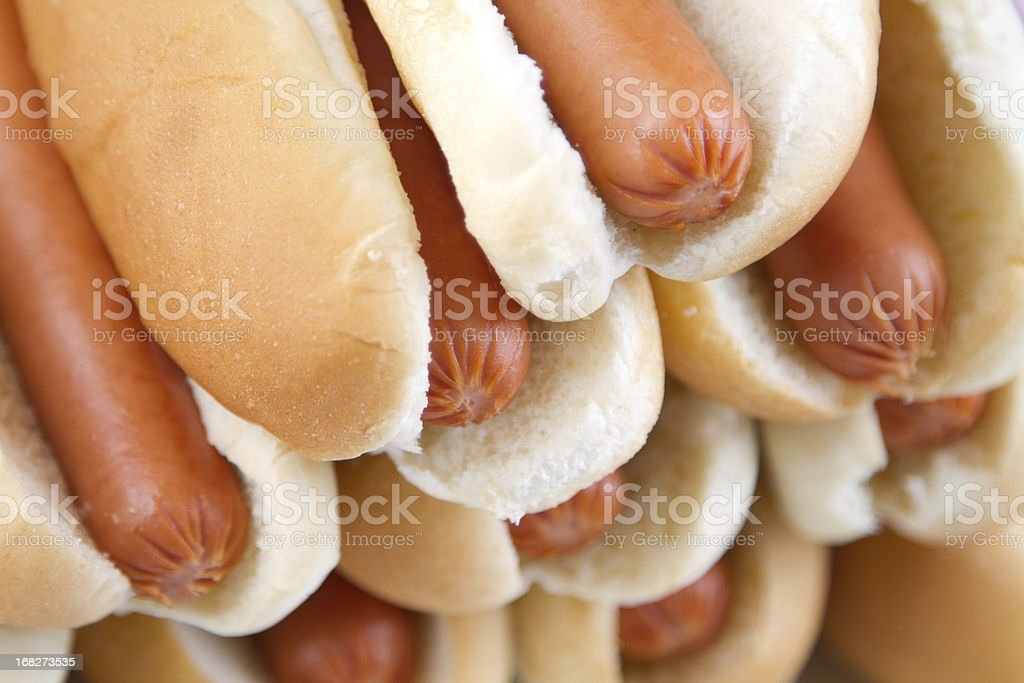 Hot Dogs to go stock photo