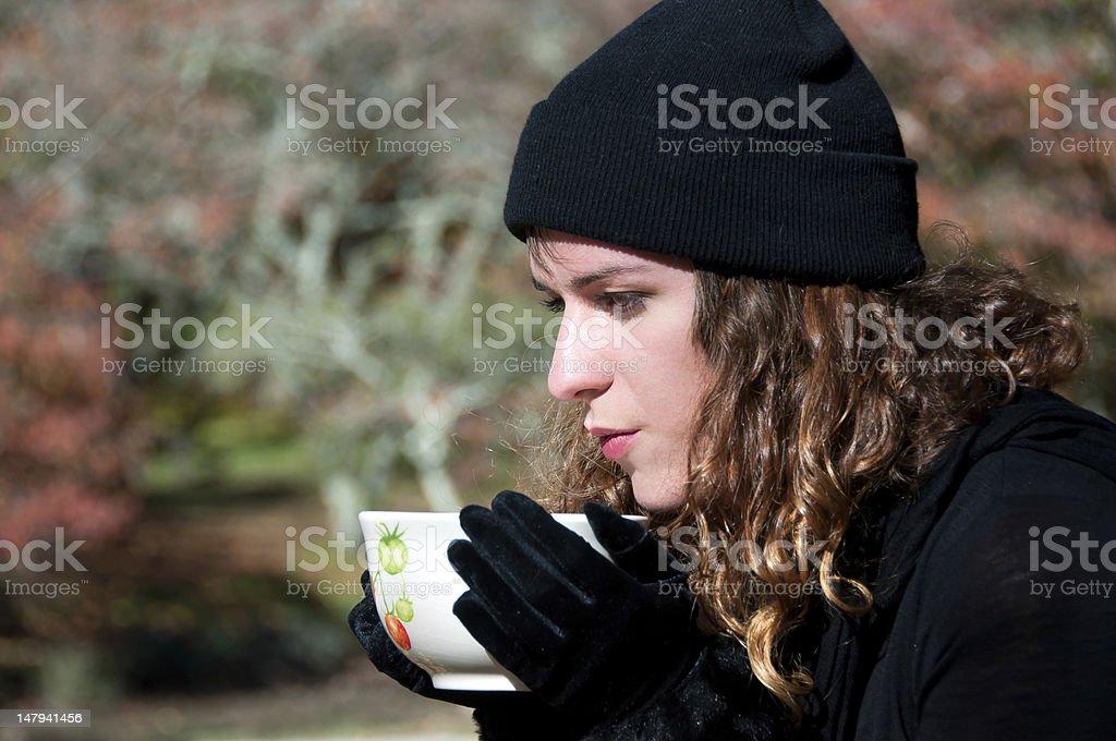 Bebida caliente foto de stock libre de derechos