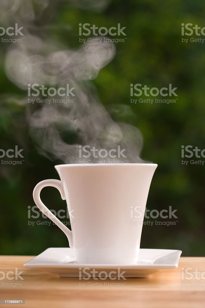 Hot Drink - Vertical royalty-free stock photo