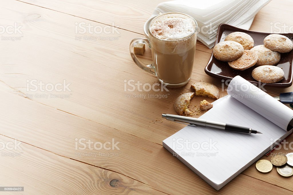 Hot Drinks: Cappuccino stock photo