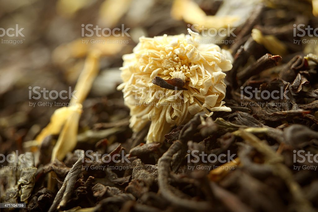Hot Drinks: Earl Grey Tea Close Up royalty-free stock photo