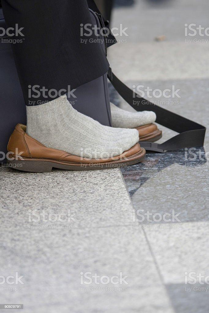 hot feet royalty-free stock photo