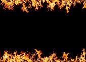 Hot fire frame