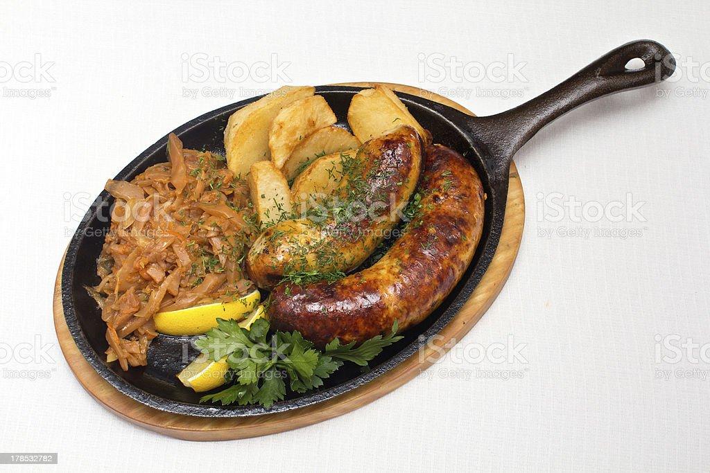 Hot food royalty-free stock photo