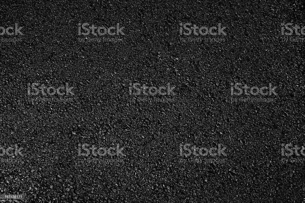 Hot fresh asphalt royalty-free stock photo