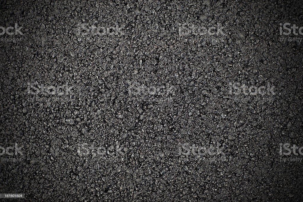 Hot fresh asphalt royalty-free stock photo