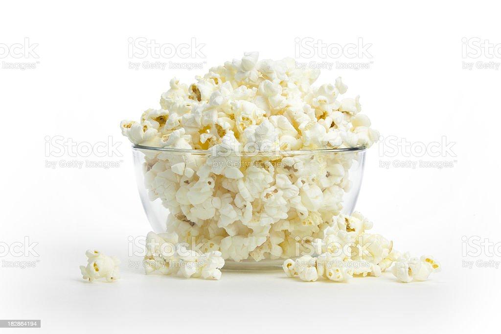 Hot, Fresh Popcorn stock photo