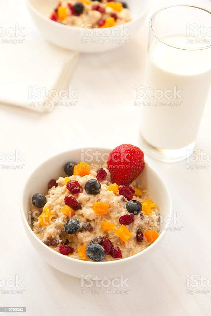 Hot Granola Cereal royalty-free stock photo