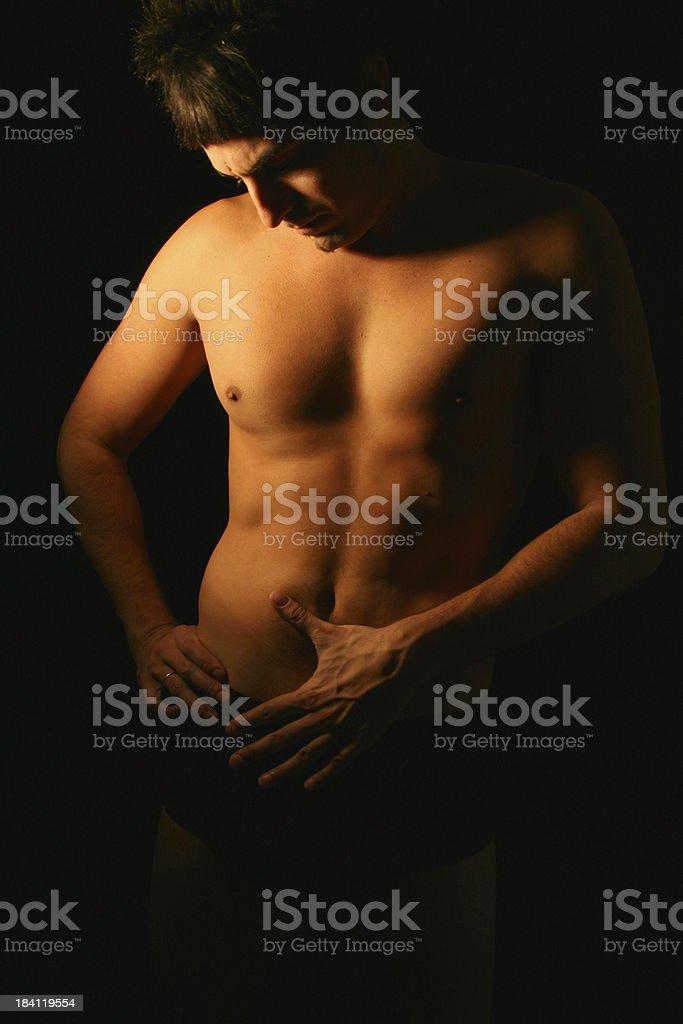 Hot Guy royalty-free stock photo