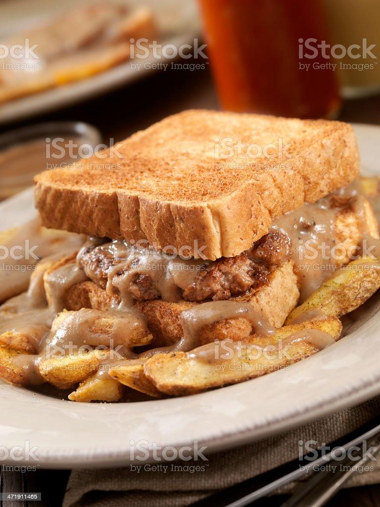 Hot Hamburger Sandwich royalty-free stock photo