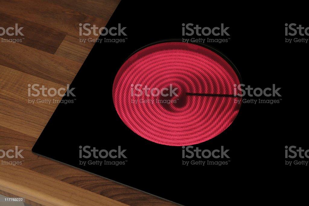 Hot Hob stock photo