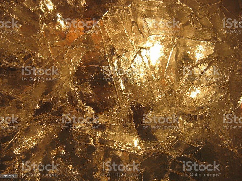 Hot de gelo foto royalty-free