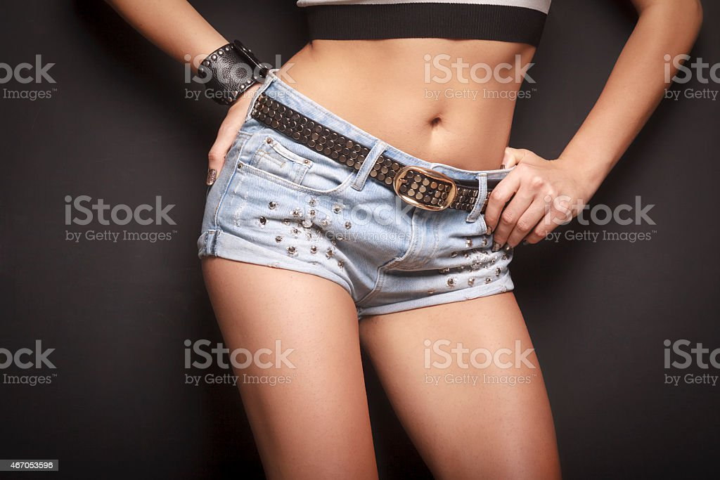 Hot Jean stock photo
