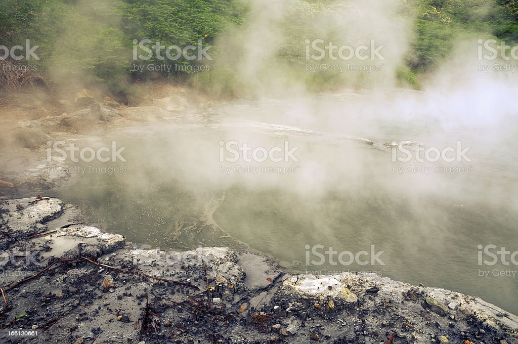 hot lake royalty-free stock photo
