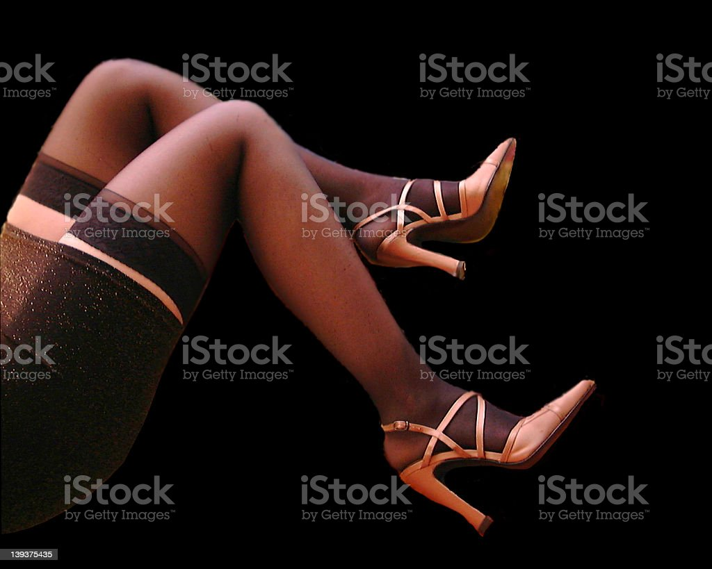 Hot Legs royalty-free stock photo