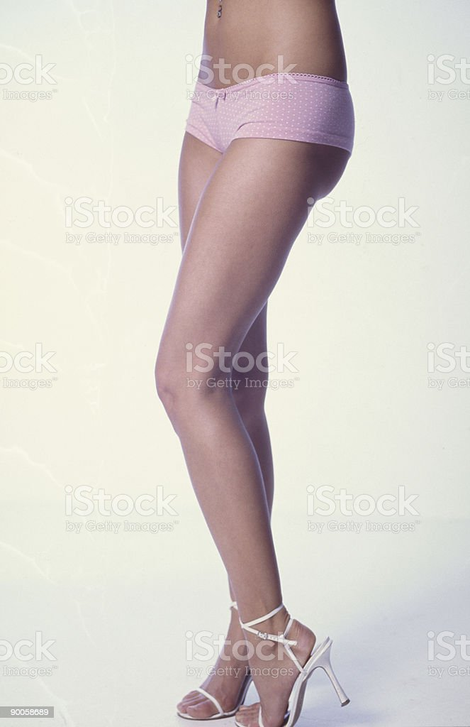 Hot legs. royalty-free stock photo