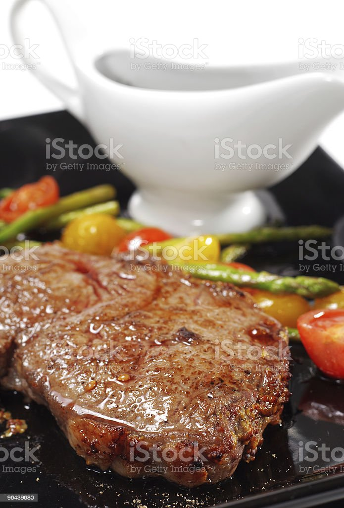 Hot Meat Dishes - Ribai royalty-free stock photo