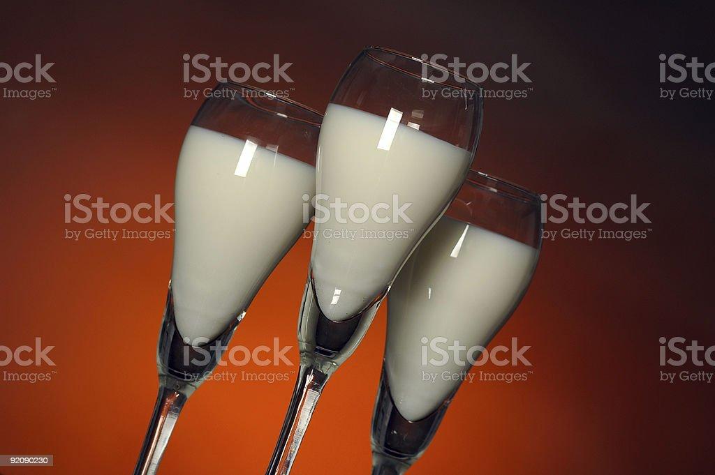Hot Milk stock photo