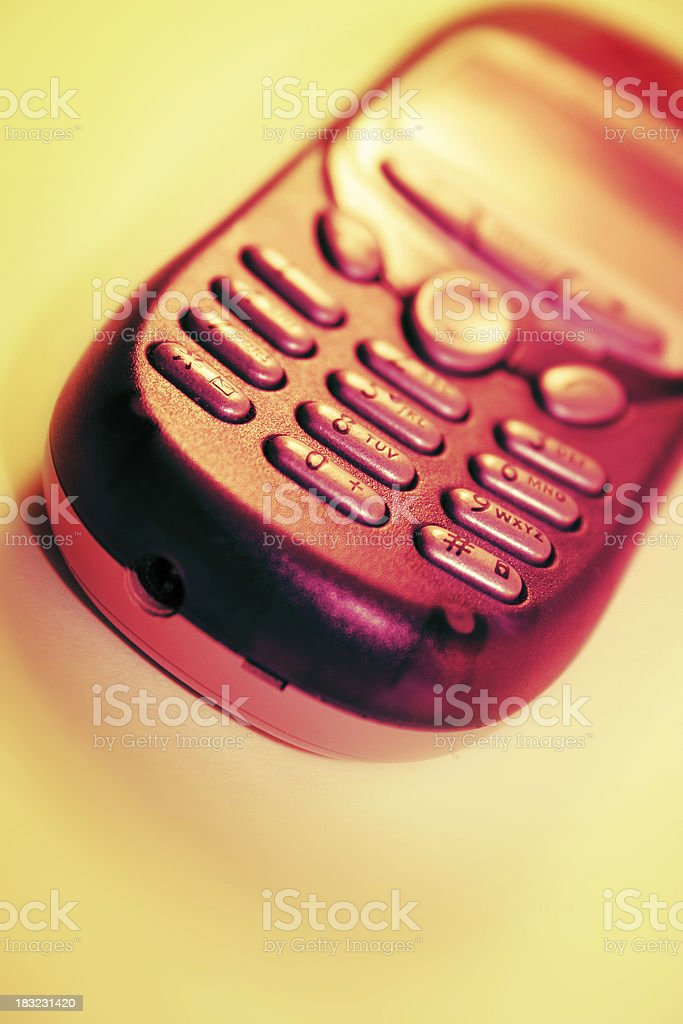 Hot Mobile royalty-free stock photo