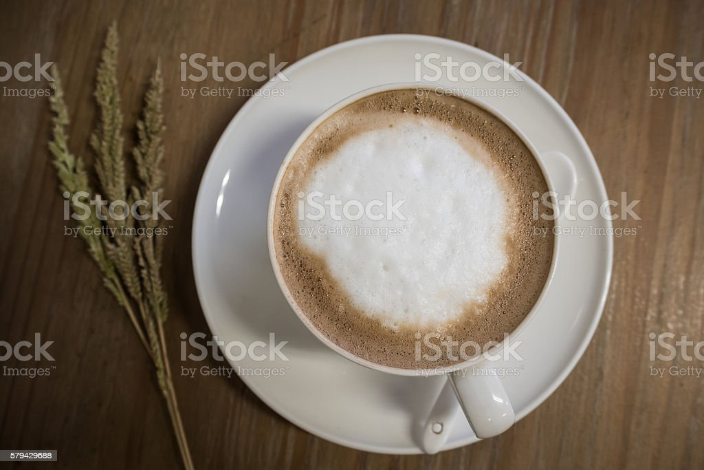 Hot mocha. stock photo
