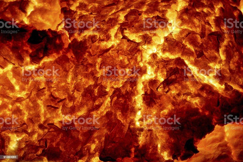Hot Molten Lava 5 stock photo