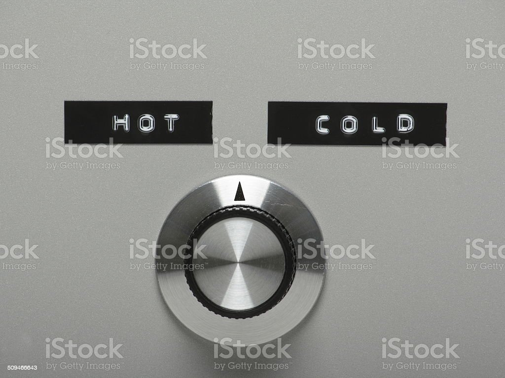 Hot or Cold? stock photo