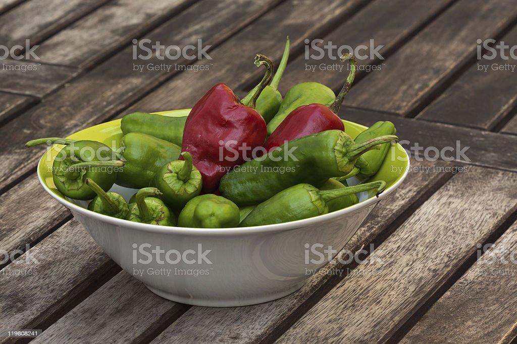 Pimenta quente foto de stock royalty-free