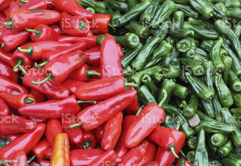 Hot pepper royalty-free stock photo