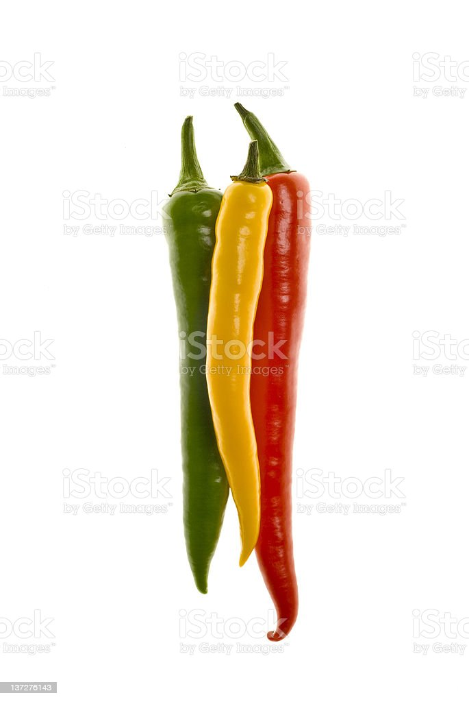 Hot Peppers stock photo