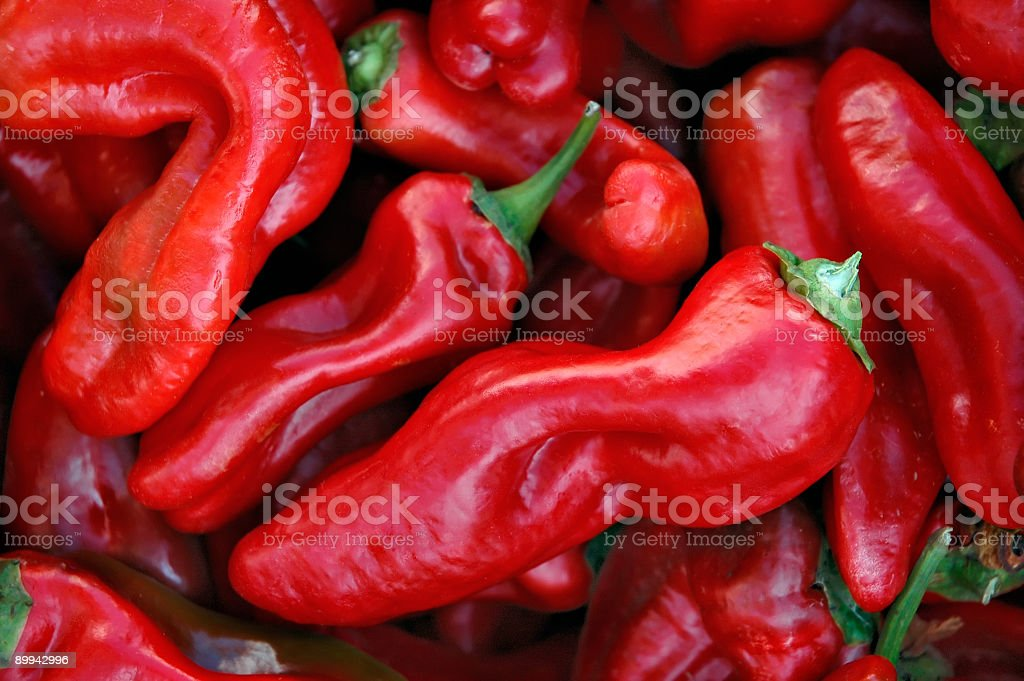 Hot Peppers! royalty-free stock photo