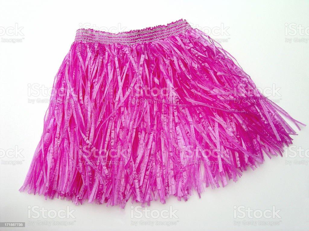 Hot Pink Hula royalty-free stock photo