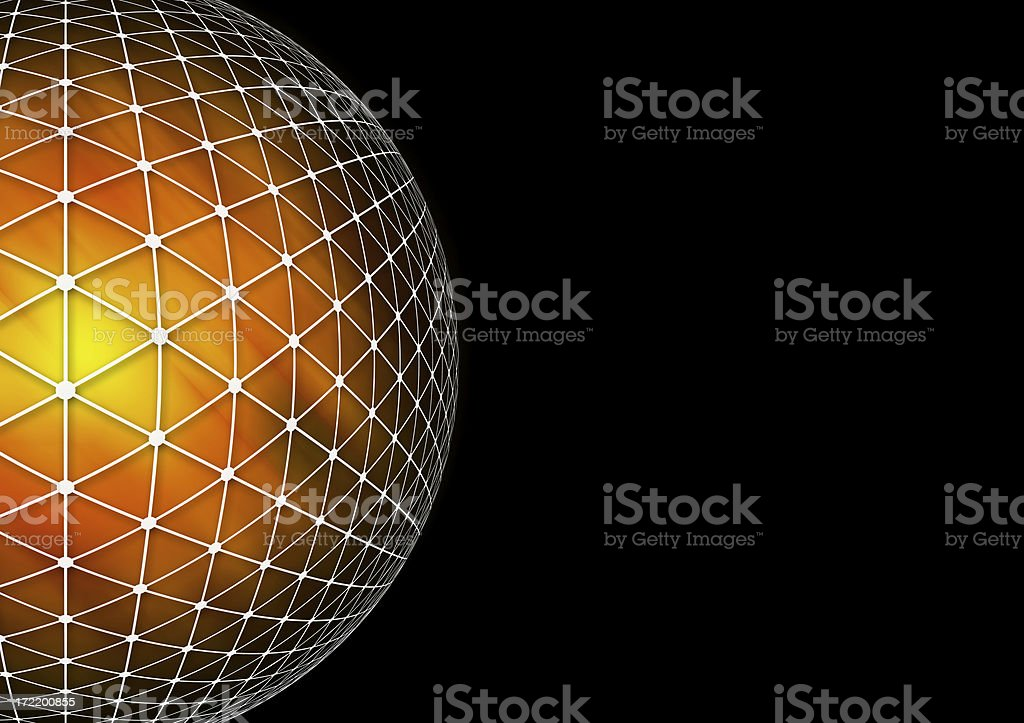 Hot Planet royalty-free stock photo