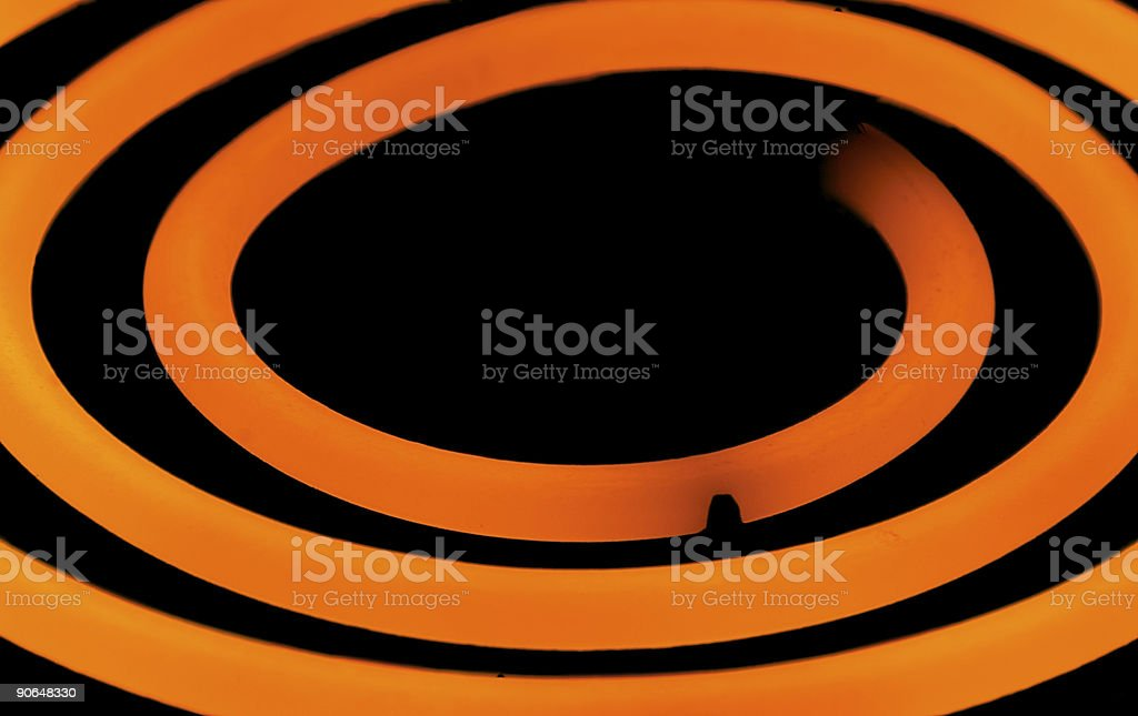 Hot Plate Element royalty-free stock photo