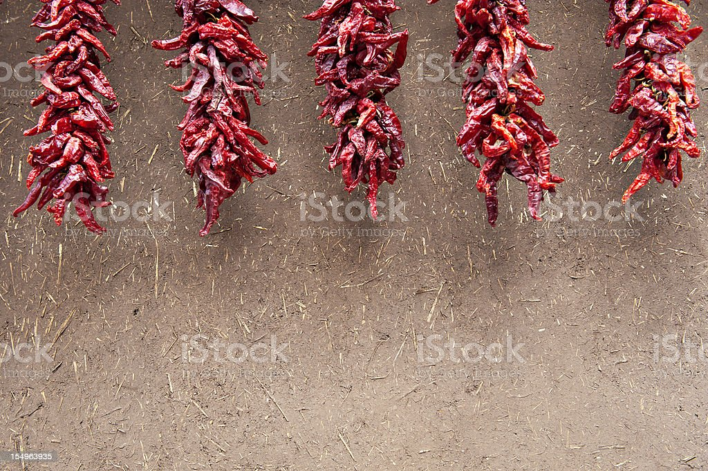 Hot Red Chili Peppers royalty-free stock photo