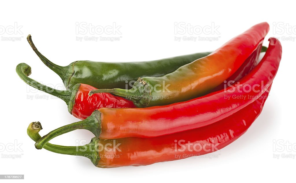 Hot red chilli pepper royalty-free stock photo