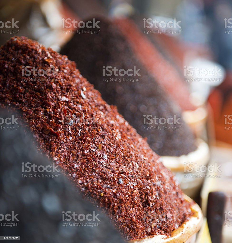 Hot Red Pepper in Turkey royalty-free stock photo