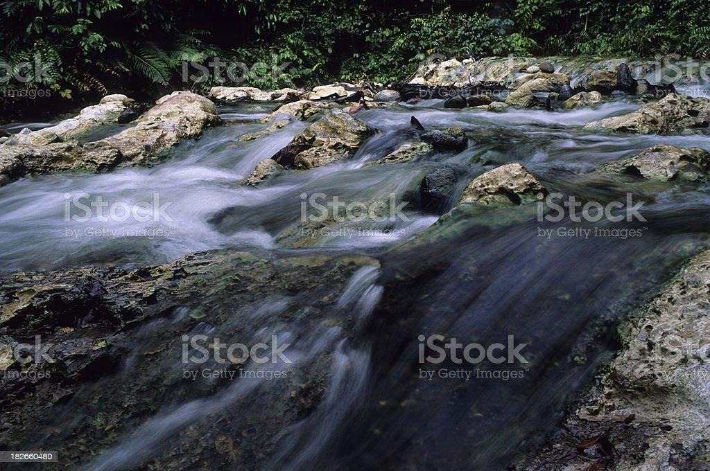 Hot River royalty-free stock photo