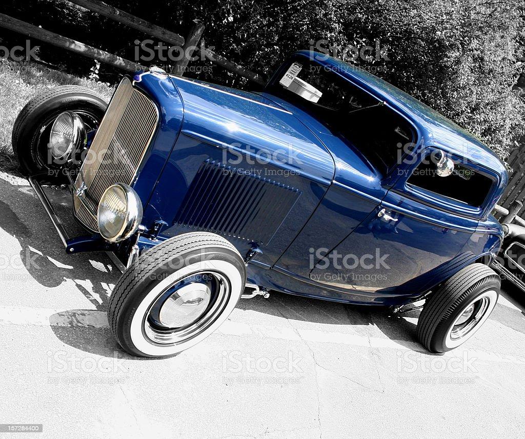 Hot Rod '32 stock photo