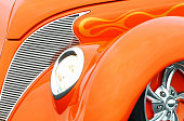Hot Rod Abstract