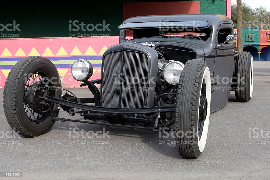 Hot Rod Coupe - Rat royalty-free stock photo