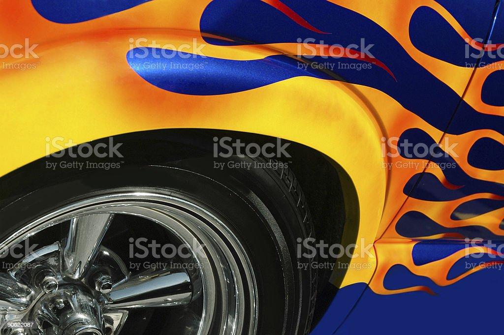 Hot Rod stock photo
