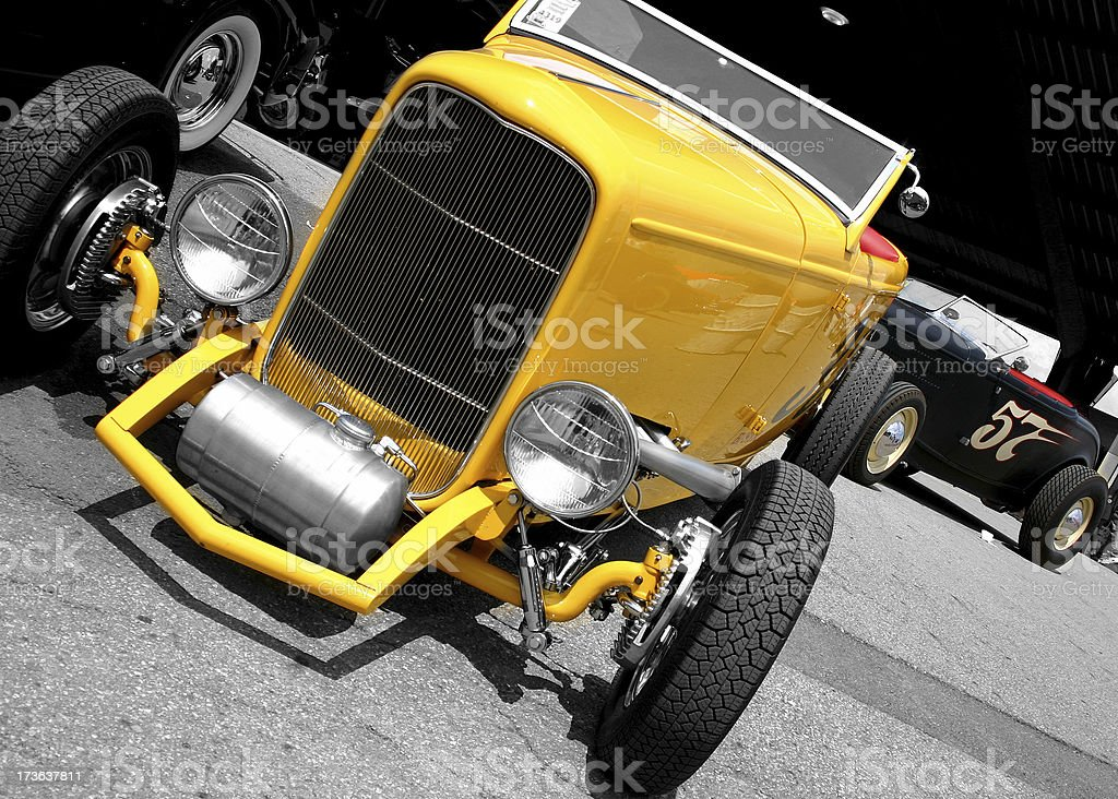 Hot Rod Roadsters stock photo
