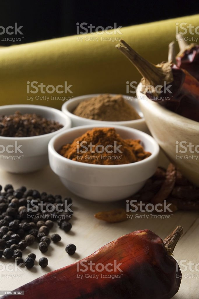 Hot spices royalty-free stock photo