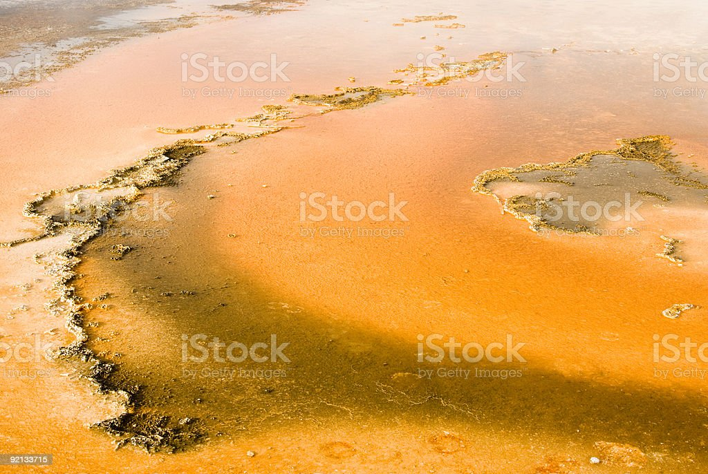 hot spring patterns royalty-free stock photo