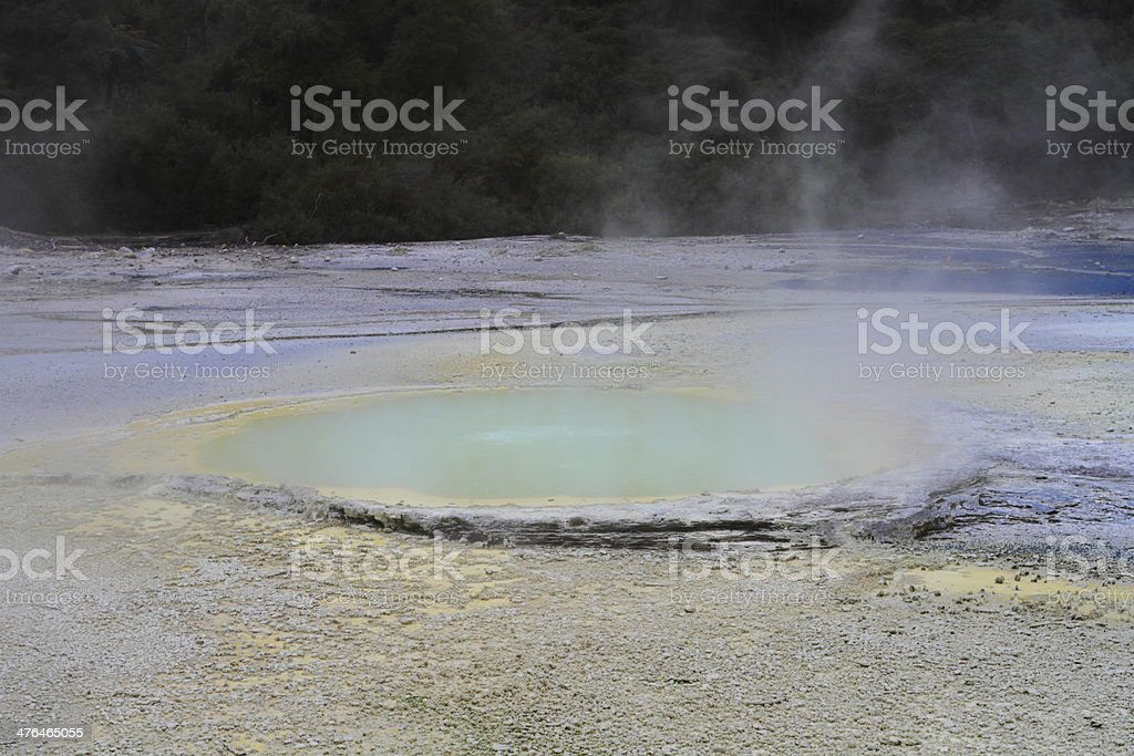 Hot spring royalty-free stock photo