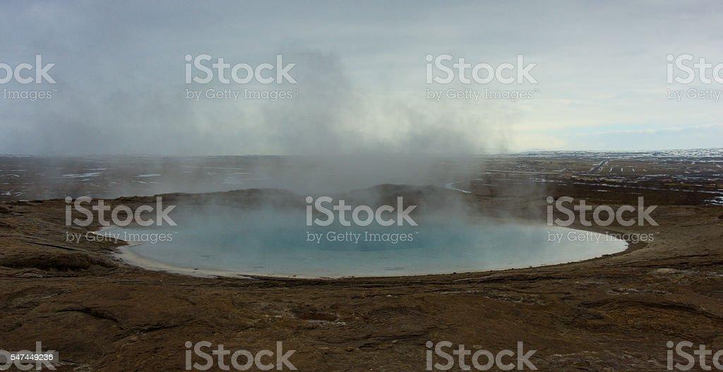 Hot spring stock photo