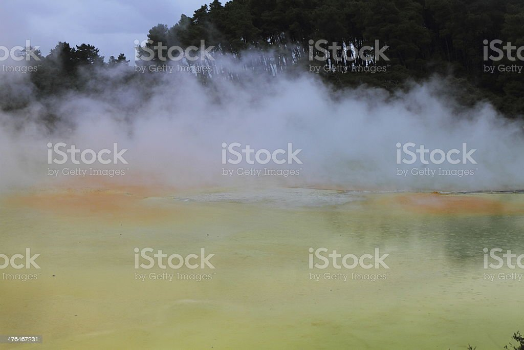 Hot Springs royalty-free stock photo