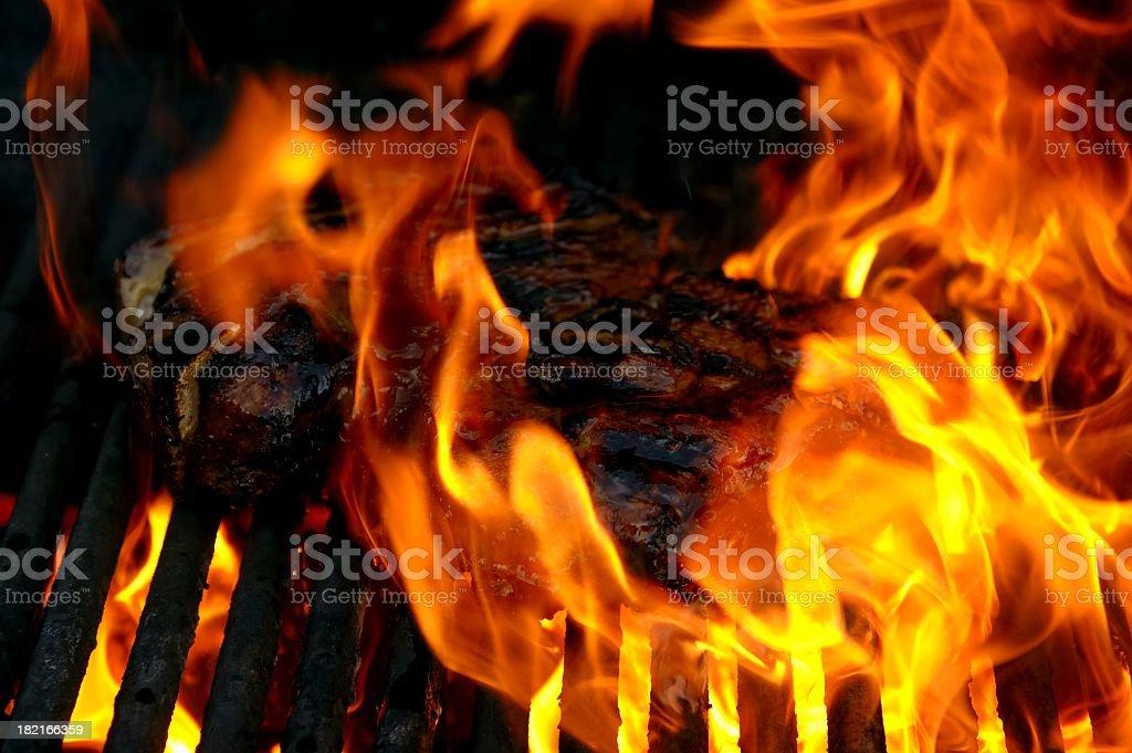 Hot Steak royalty-free stock photo