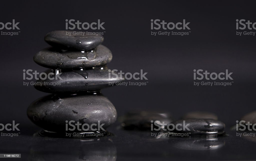 Hot Stones royalty-free stock photo