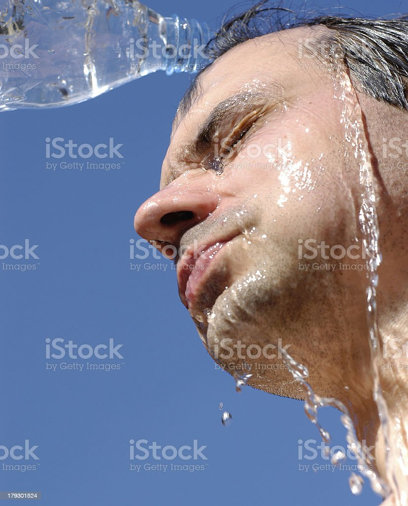 hot summer sun stock photo